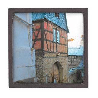 Alemania, Renania, Rhens, mitad enmaderó casas Caja De Joyas De Calidad