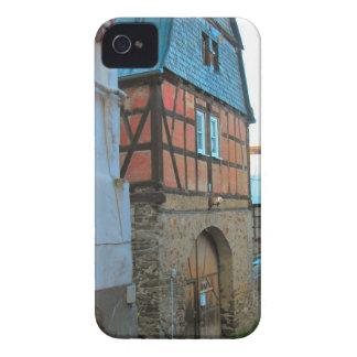 Alemania, Renania, Rhens, mitad enmaderó casas iPhone 4 Cárcasa