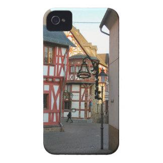 Alemania, Renania, Rhens, mitad enmaderó las casas Case-Mate iPhone 4 Cobertura