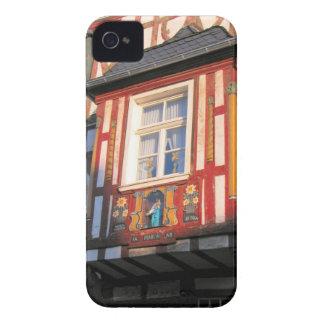 Alemania, Renania, Rhens, mitad enmaderó las casas Case-Mate iPhone 4 Fundas