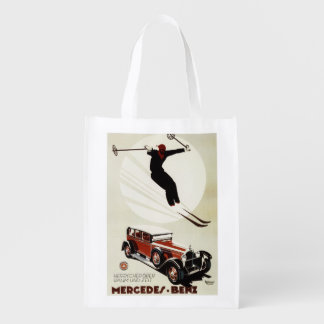 Alemania - salto del esquiador bolsas para la compra