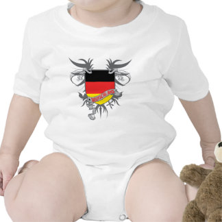 Alemania se fue volando traje de bebé