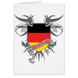 Alemania se fue volando tarjetas
