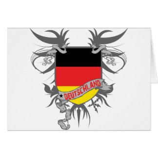 Alemania se fue volando tarjeta