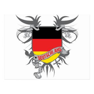 Alemania se fue volando postal