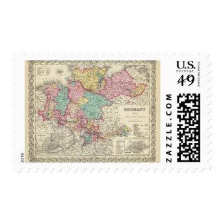 Alemania septentrional 2 timbre postal
