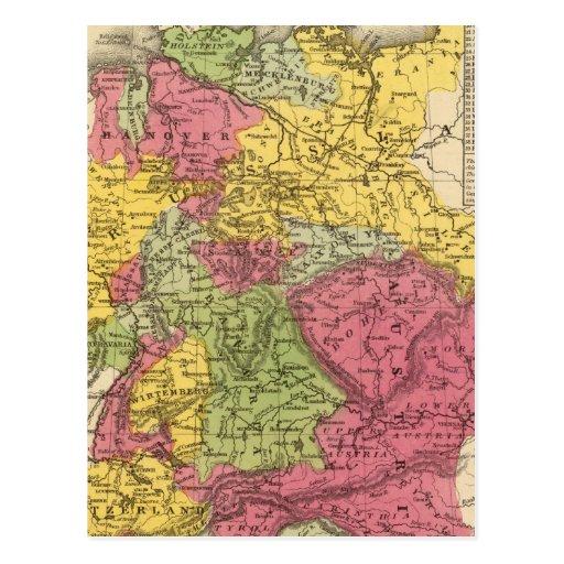 Alemania, Suiza, e Italia septentrional Postales