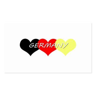 Alemania Tarjeta De Visita