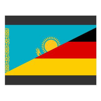 Alemania y Kazajistán, Kazakstan Tarjetas Postales