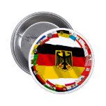 Alemania y sus Lander que agitan banderas Pin