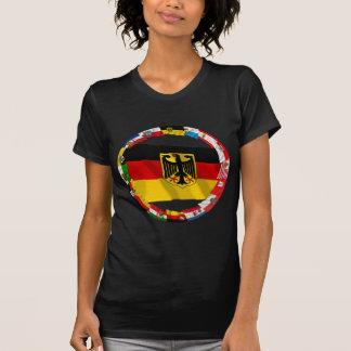 Alemania y sus Lander que agitan banderas Camisetas