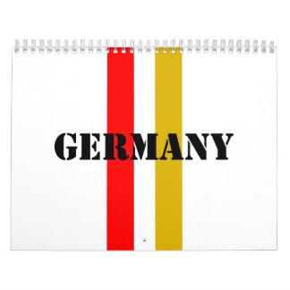 Alemania Calendario De Pared
