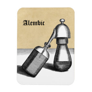 Alembic Flask and Receiver Personalized Magnet