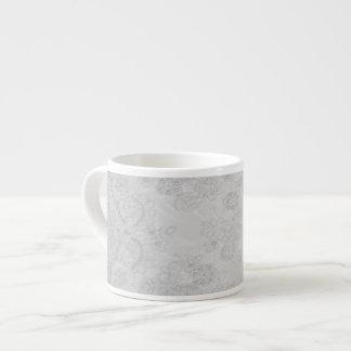 Alencon Beaded Lace Espresso Coffee or Tea Cup