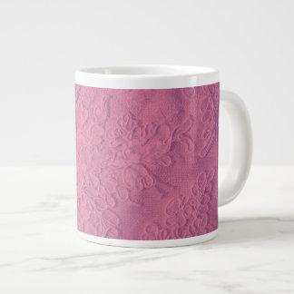 Alencon Beaded Lace Jumbo Mug