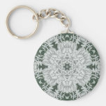 Alencon Bridal Lace Key Chain