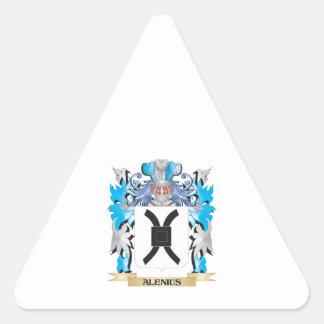 Alenius Coat Of Arms Sticker