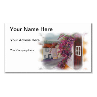 alentejo houses business card
