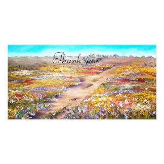 Alentejo na Primavera Custom Photo Card