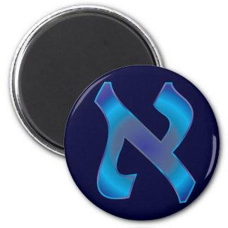 Aleph 2 Inch Round Magnet