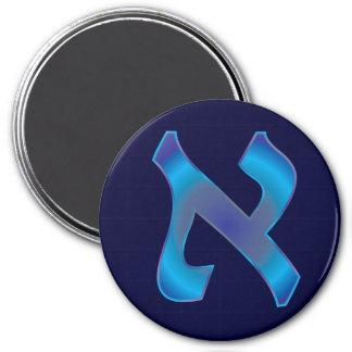 Aleph 3 Inch Round Magnet
