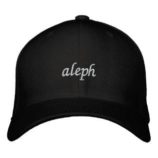 Aleph - alfabeto hebreo adaptable gorras bordadas