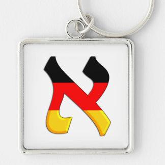 Aleph German.png Keychain