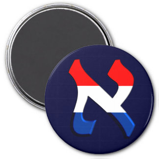 Aleph Holand.png 3 Inch Round Magnet