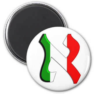 Aleph Italia 2 Inch Round Magnet