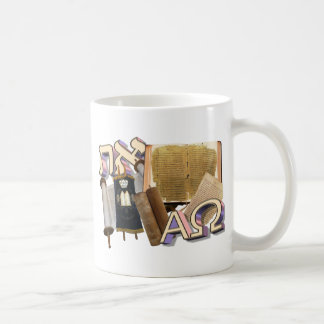 Aleph Tav / Alpha & Omega Mugs