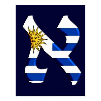 Aleph uruguay.png postcard