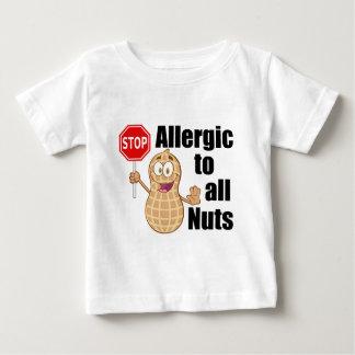 Alergia de la nuez camisas