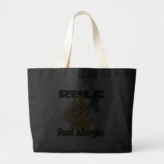 Alergias alimentarias de la regla bolsa