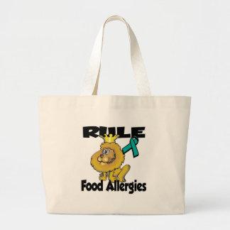 Alergias alimentarias de la regla bolsas