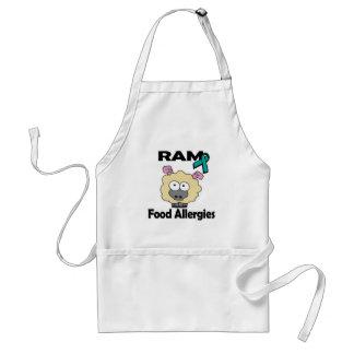 Alergias alimentarias de RAM Delantal