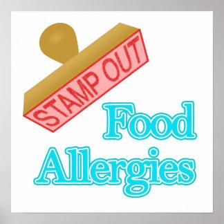 Alergias alimentarias poster