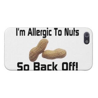 Alérgico a las nueces retroceda tan iPhone 5 fundas