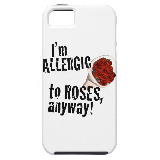 Alérgico a los rosas Vday anti iPhone 5 Cárcasa