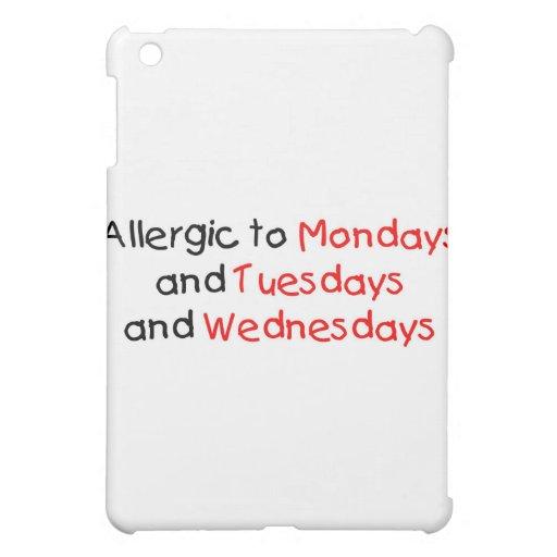 Alérgico a lunes