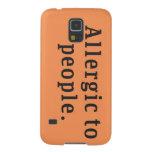 """""""Alérgico caja de la galaxia S5 de Samsung de la Carcasas De Galaxy S5"""