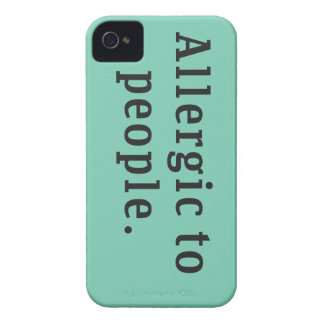 """""""Alérgico caso del iPhone 4/4s de la gente"""" Case-Mate iPhone 4 Protectores"""