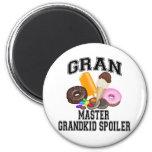 Alerón Gran del Grandkid Imán De Frigorífico