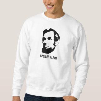 Alerón Lincoln alerta Sudadera