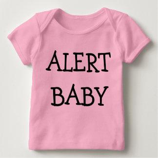 Alert Baby Long Sleeve Baby T-Shirt