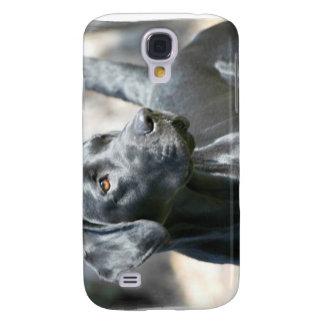 Alert Black Lab iPhone 3G Case Samsung Galaxy S4 Cases