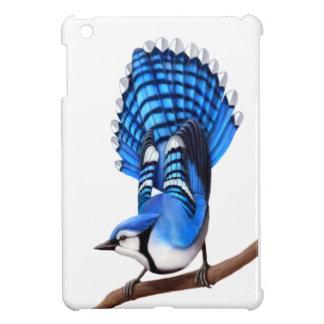 Alert Blue Jay Wild Bird iPad Mini Case
