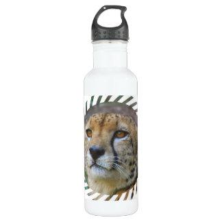 Alert Cheetah 24oz Water Bottle