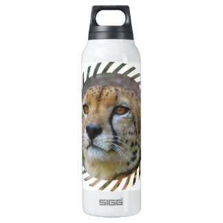 Alert Cheetah 16 Oz Insulated SIGG Thermos Water Bottle