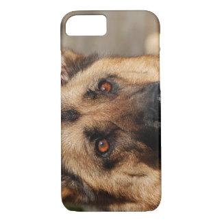 Alert German Shepherd iPhone 7 Case