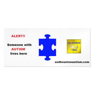 ALERT Magnet For Mailbox - Autism Or Modify Magnetic Card